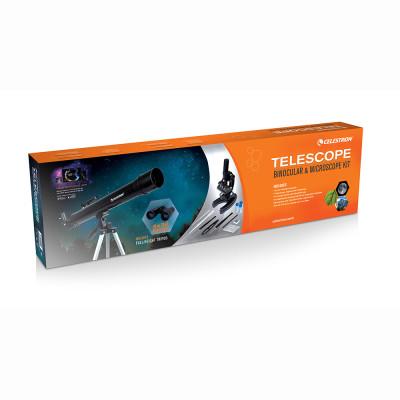 Celestron 22010 Science Kit Teleskop, Dürbün ve Mikroskop Seti - Thumbnail