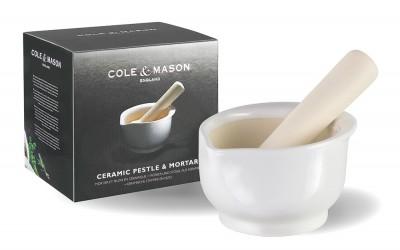 Cole & Mason H100069 14cm Seramik Havan - Thumbnail