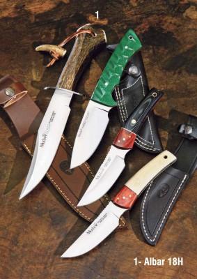 Muela Albar-18H Albar Serisi Geyik Boynuzu Saplı Bıçak - Thumbnail