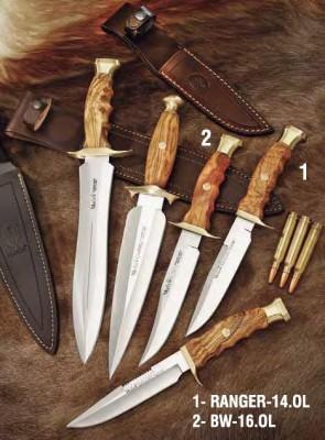 Muela BW-16.OL BW Serisi Zeytin Ağacı Saplı Bıçak - Thumbnail