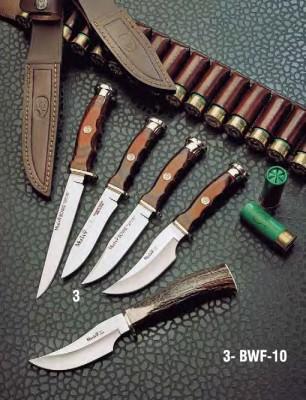 Muela BWF-10 Mercan Ağacı Saplı Bıçak - Thumbnail