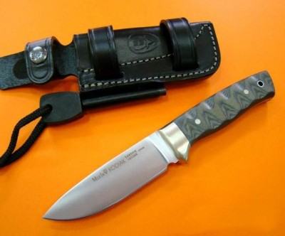 Muela KODIAK-10G.M Yeşil Micarta Saplı Bıçak - Thumbnail
