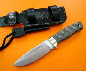 Muela KODIAK-10G.M Yeşil Micarta Saplı Bıçak