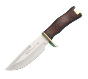 Muela Ranger-13 Kırmızı Mercan Ağacı Saplı Av Bıçağı