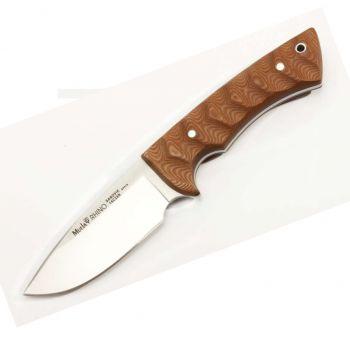 Muela RHINO-10SV.C Rhino Serisi Kahverengi Micarta Saplı Bıçak
