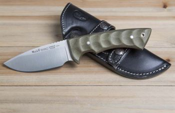 Muela RHINO-10SV.G Rhino Serisi Yeşil Micarta Saplı Bıçak