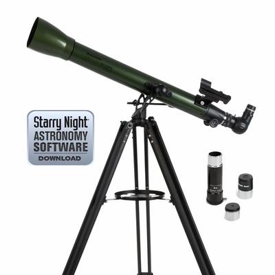 Celestron 22100 Explorascope 60Az Refactor Teleskop - Thumbnail