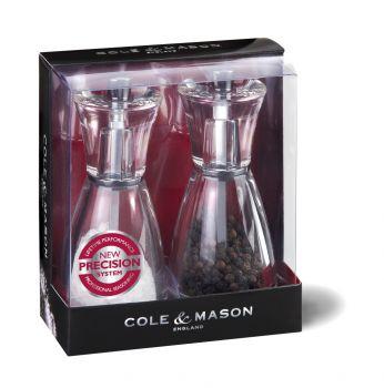 Cole & Mason H35708P Pina 125mm Tuz&Biber Değirmeni Seti