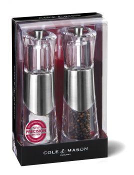 Cole & Mason H57273P Bobbi Tuz&Biber Değirmeni Seti