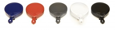 0066-007 Mini-Bak Card Clamp Beyaz Anahtarlık - Thumbnail