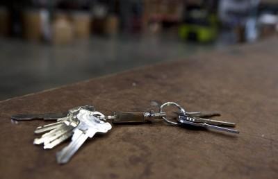 0301-123 Key-Bak Çek-Ayır Anahtarlık Halkası - Thumbnail
