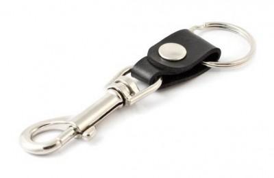 0305-907 Key-Bak Bolt Snap Deri Kayışlı Anahtarlık Halkası - Thumbnail