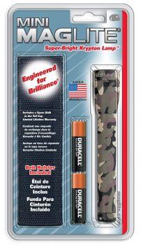 Maglite M2A02HR Mini Maglite AA Kılıflı Xenon Fener (Blisterli)
