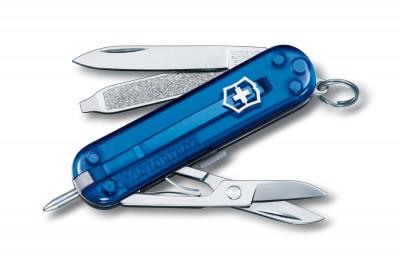 Victorinox 0.6225.T2 Signature Sapphire Çakı - Thumbnail