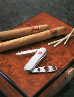 Victorinox 0.6580.16 Cigar Cutter, Alox Çakı - Thumbnail