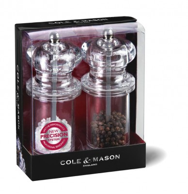 Cole & Mason H50518P 505 Precisi 140mm Tuz&Biber Değirmeni Seti - Thumbnail