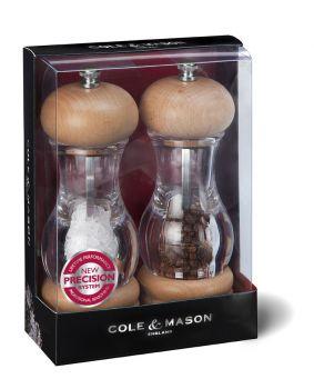 Cole & Mason H10538P Preci 165mm Tuz&Biber Değirmeni Seti