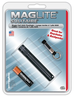 MAGLITE - Maglite K3A016R Solitaire AAA Fener (Blisterli)