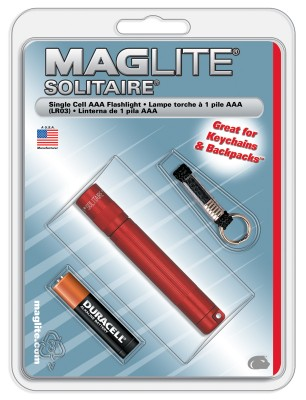 MAGLITE - Maglite K3A036R Solitaire AAA Fener (Blisterli)