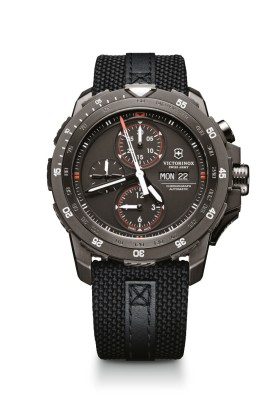 VICTORINOX SWISS ARMY - Victorinox Swiss Army 241530 Alpnach Mechanical Chronograph Special Edition Saat