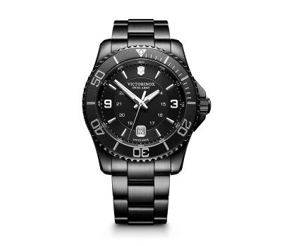 VICTORINOX SWISS ARMY - Victorinox Swiss Army 241798 Maverick Black Edition Saat