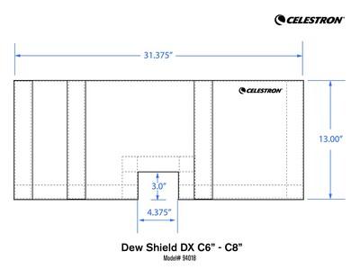 Celestron 94018 DX C6-C8 Lens Koruyucu - Thumbnail